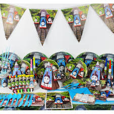 Kids Thomas <b>Theme Party</b> Decoration Paper Plate Cup Hat Happy ...