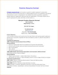 cover letter fresher resume format fresher resume sample format cover letter format of resume for fresher teacher incident report templatefresher resume format large size