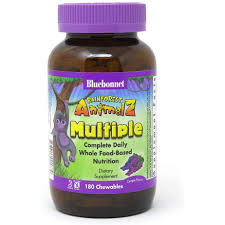 Bluebonnet Nutrition <b>Rainforest Animalz Whole</b> Food Based Multiple ...