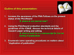 Powerpoint on writing research paper