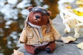 <b>Мишка</b> тедди летчик – заказать на Ярмарке Мастеров ...