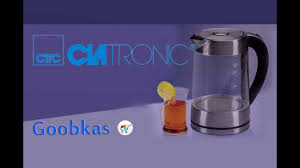 <b>Электрический чайник Clatronic WK</b> 3501 G - YouTube