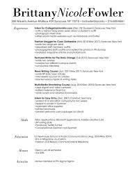 resume marketing services fashion marketing resume resume and cover letters