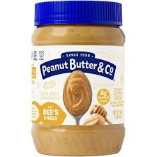 Peanut Butter & Co <b>The Bee's Knees Peanut</b> Butter with Honey -- 16 ...