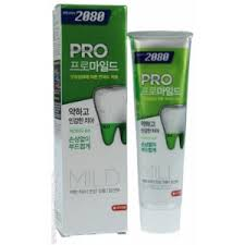 <b>Зубная паста</b> KeraSys Dental Clinic 2080, Pro-Mild, <b>МЯГКАЯ</b> ...