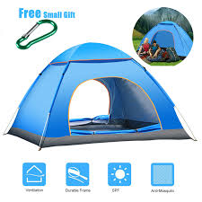 MYJ Ultralight Family <b>Dome Tent</b> One Touch Camping Sun Shelters ...