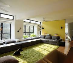 living room ideas for cheap: apartment astonishing apartment decorations dark gray sofas white painted walls brown leather sofa framed glass