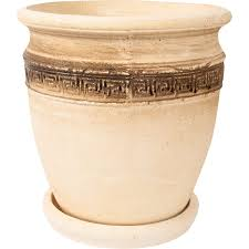 <b>Горшок</b> цветочный «<b>Аттика</b> №4» 8 л 270 мм, шамотная глина в ...