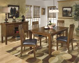 dining room table ashley furniture home: signature design by ashley ralene casual dining table set royal furniture pub table and stool sets memphis jackson nashville cordova tennessee
