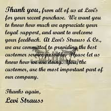thank you letter levisproject thank you letter from levi s strauss 37 of 54