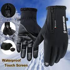 <b>Winter Warm</b> Sports Gloves Windproof <b>Waterproof Touch Screen</b> ...