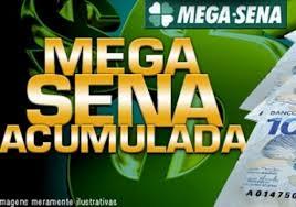 Resultado de imagem para Mega-Sena acumula e deve pagar R$ 39 milhões no próximo sorteio