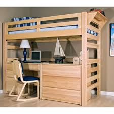 incridible bunk bed with desk and futon underneath bed desk dresser combo home