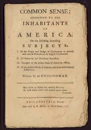 thomas paine john s consciousness perhaps the most famous pamphlet in american history was the one entitled ldquocommon sense rdquo published in of 1776 and written by thomas paine