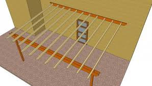 Attached Pergola Plans   MyOutdoorPlans   Free Woodworking Plans    Pergola attached to the house plans