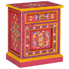 Festnight <b>Bedside Cabinet Solid Mango</b> Wo- Buy Online in Grenada ...