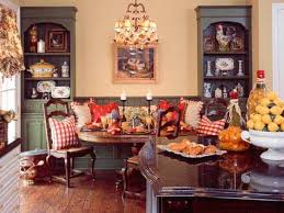 village french provincial traditional dining room