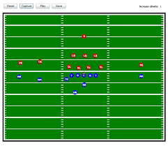 best photos of printable football play templates   football play    free football playbook template