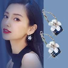 Korean Earrings <b>Exaggerated Atmosphere</b> Trend Temperament ...