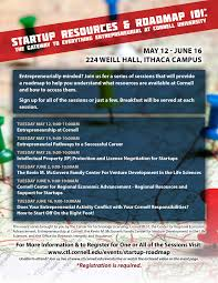entrepreneurship at cornell startup resources roadmap 101 entrepreneurial pathways to a successful career