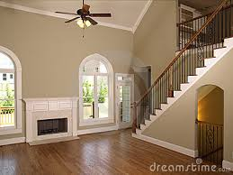 model living rooms: luxury model home living room staircase royalty free stock images image  model