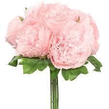 <b>Цветок искусственный декоративный</b> Букет пионов <b>розовый</b> Y3 ...
