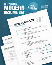 best resume templates  web amp graphic design  bashooka 3piece modern resume set