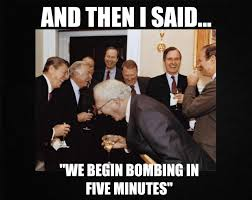 「We begin bombing in five minutes」の画像検索結果