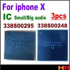 <b>3pcs 100</b>% New 338S00295 338S00248 For iphone <b>X</b> small big ...