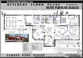 blueprints Acreage House home Floor Plans Australian HOUSE PLANS    Floor Plan