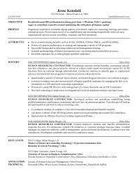 resume objectives examples human resources    Human Resources Resume