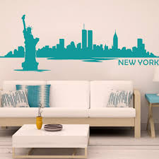 liberty bedroom wall mural: online shop new york city the statue of liberty kids room wall