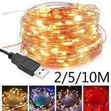 2/5/10M USB LED String Lights for Xmas Garland Party ... - Vova