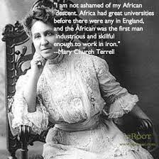 Best Black History Quotes: Mary Church Terrell on Africa - The Root