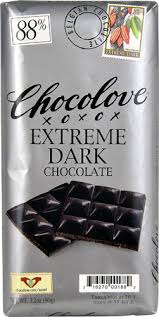 Chocolove <b>Extreme Dark Chocolate</b> 88% -- 3.2 oz - Vitacost