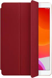 Обложка <b>Apple Leather Smart Cover</b> для iPad 10.2 (2019) красный ...