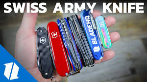 Top 5 <b>Victorinox Swiss Army</b> Knives of 2019   Knife Banter S2 (Ep 7 ...