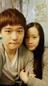 Yesung's brother Kim Jong jin with his Girlfriend (Seon Yeong Jeon) - 292079_193868730680231_753699_n