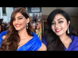 sonam kapoor cannes film festival 2016 inspired makeup tutorial bollywood actress