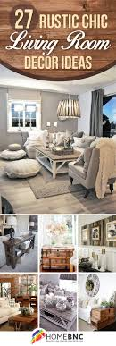 rustic style living room clever: rustic chic living room ideas  rustic chic living room ideas