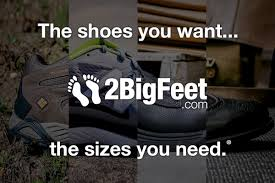 <b>Large Size</b> Shoes & Big Shoes for <b>Men</b> at 2BigFeet