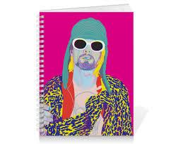 <b>Тетрадь на пружине</b> Kurt Cobain #1615065 от Jimmy Flash
