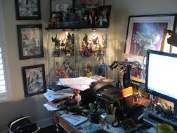 interview chuck dixon comic books comic book writers i work in what is described by realtors as a home office it s basically a cubby hole filled books