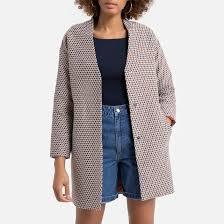 <b>Пальто</b> жаккардовое <b>средней</b> длины жакард <b>La Redoute</b> ...