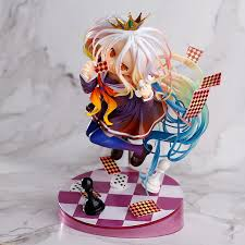 <b>NEW 19cm Anime Life</b> No Game No Life Shiro Game of Life Painted ...
