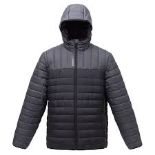 <b>Куртка мужская Outdoor</b>, <b>серая</b> с черным купить оптом с ...