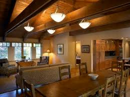 inverted pendants provide omnidirectional directional ambient lighting the up lighting highlights the wonderful wood ceiling ceiling up lighting
