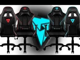 Обзор игрового <b>кресла ThunderX3</b> RC3 - YouTube