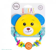 <b>Игрушка</b>-<b>погремушка Happy Baby</b> Umkas 330307 купить в ...