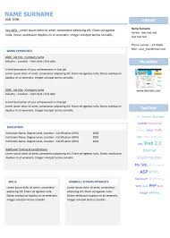 free resume templates to download   examples of resumesthese resume templates are the models most used and most appreciated by our users  feel   to customize to your tastes  each model is compatible   your